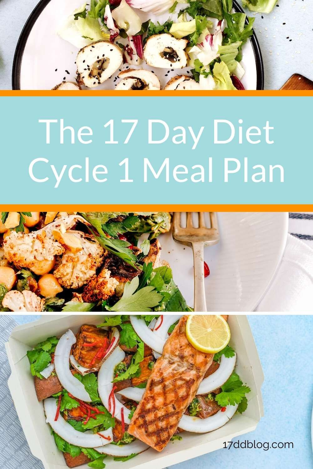 Cycle 1 meal plan for the 17 day diet you cant go wrong