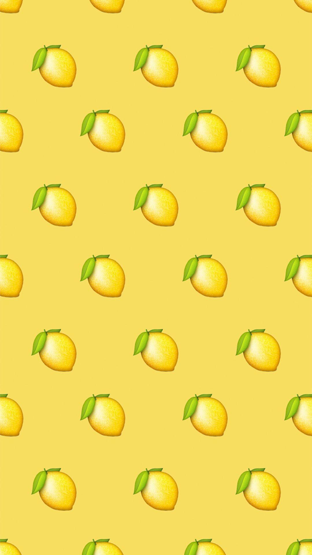 Cute emoji wallpaper image by ally🦋☁️ on Yellow | Emoji ...