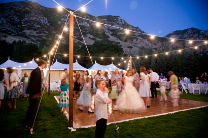 Outdoor dance floor~ still think this would be Awesome?! | Wedding ...