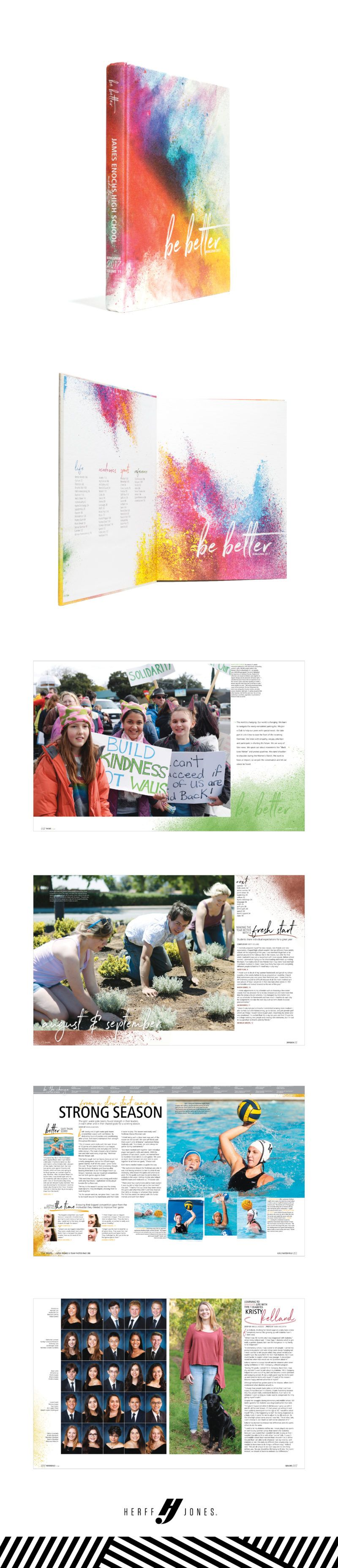 Wingspan James Enochs High School Modesto Ca Yearbook Themes Yearbook Pages Yearbook Covers
