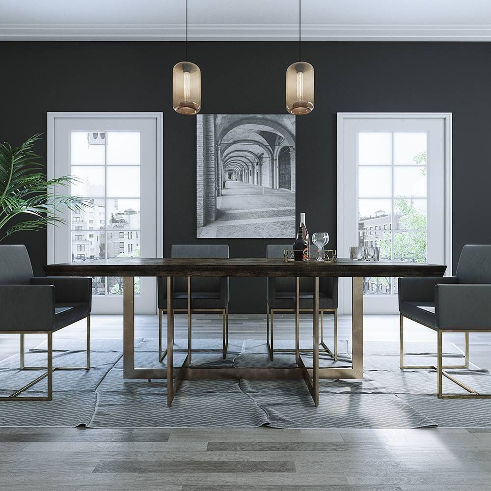Pahoa Large Table Walnut Modani Homedecor Home Interiors Interiordesignideas Decor Design Designideas Interiordecor Homedesignideas Interiordesignid [ 1000 x 1000 Pixel ]