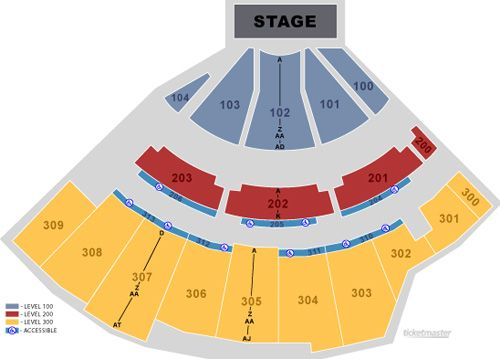 Seating Chart The Amphitheater At The Wharf Orange Beach Alabama The Wharf Orange Beach Orange Beach Chart