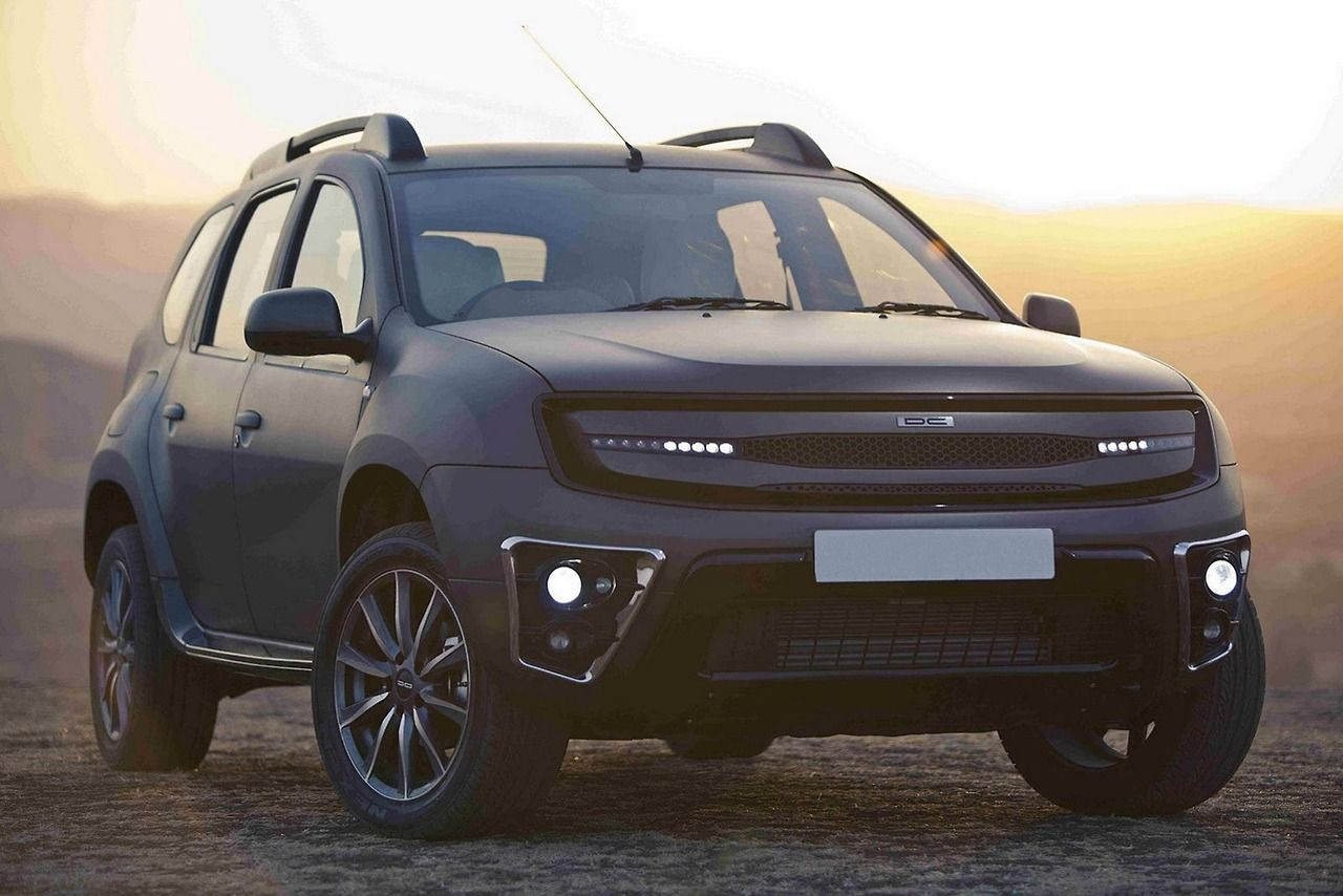Renault Dacia Duster By Dc Design Indian Market Renault Duster Modified Cars Suv