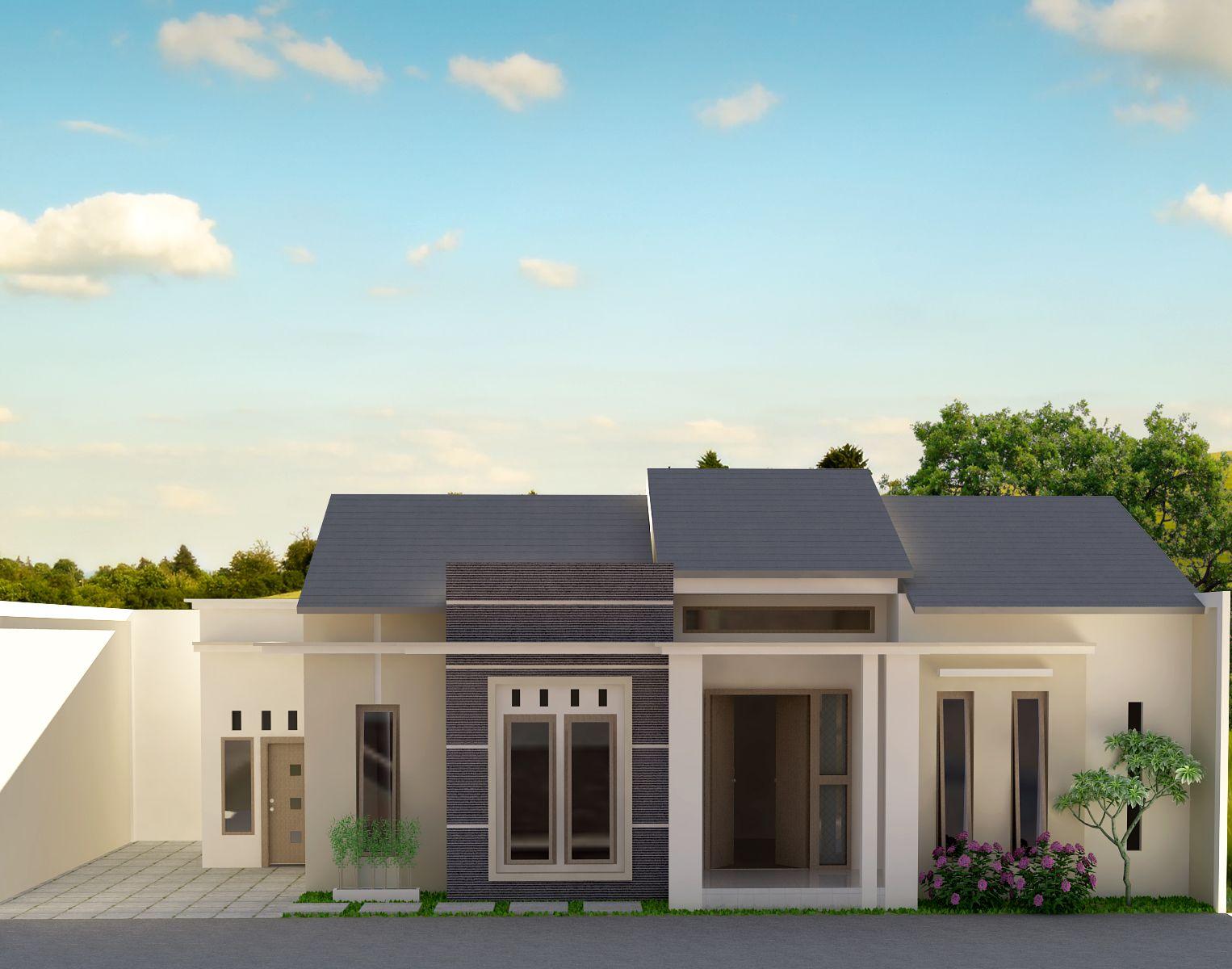 Desain Rumah 1 Lantai Tipe 200 Home Sweet Home Pinterest