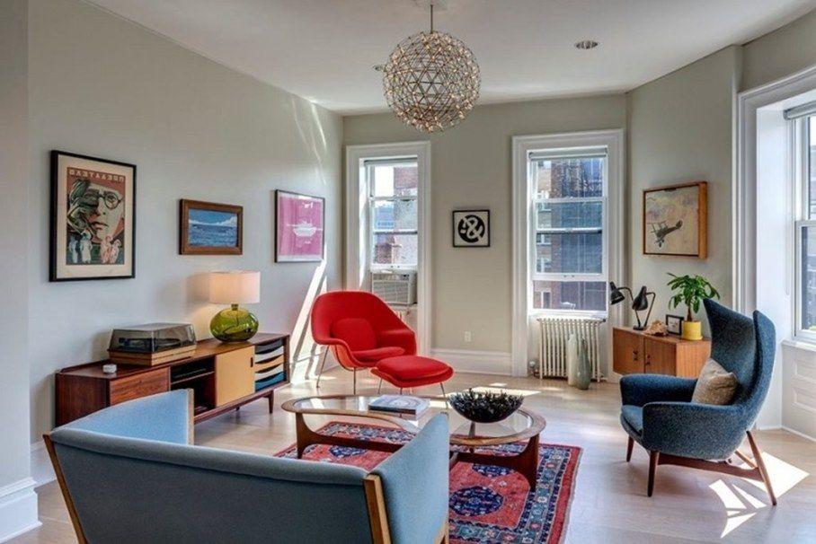 Retro Style Interior Design Ideas Mid Century Modern Living Room Retro Living Rooms Mid Century Living Room Decor #retro #style #living #room