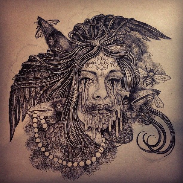 Photo by misterbeaudry Drawings, Girl tattoos, Art