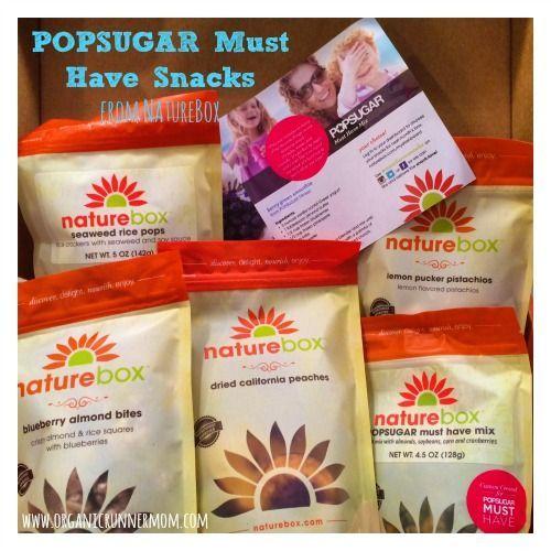#popsugarmh #naturebox #popsugar #fitness #snacks #must #have #from #adPOPSUGAR Must Have Snacks fro...