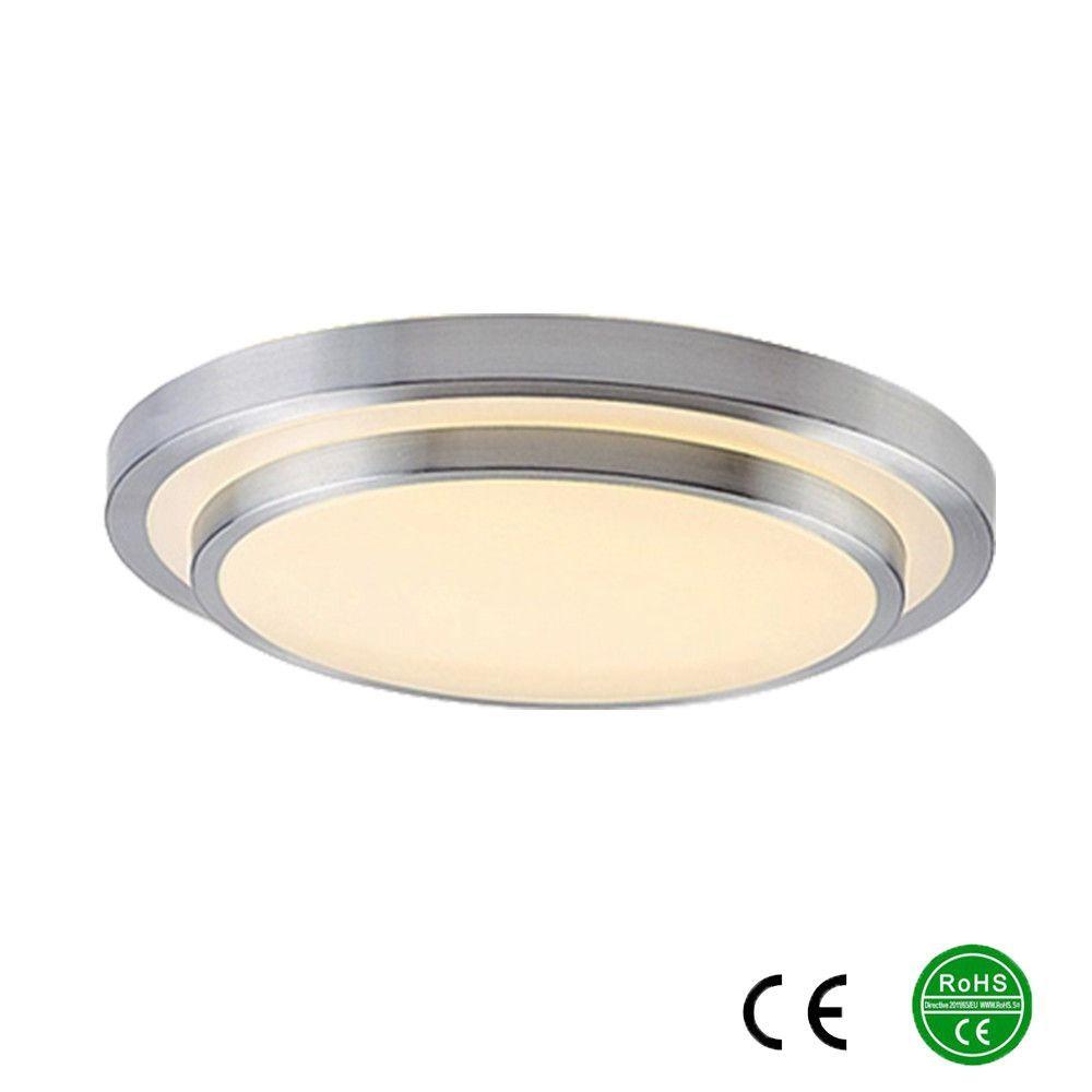 Led Ceiling Lights Dia 350mm Aluminum Acryl High Brightness 220v