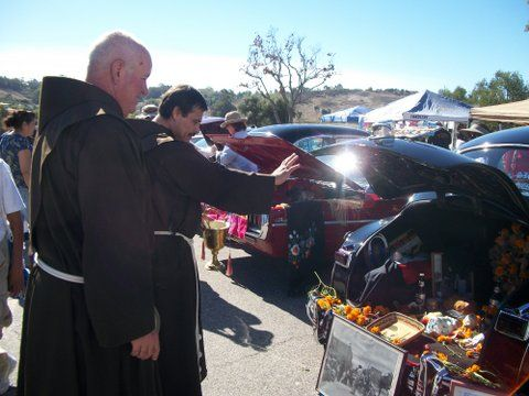 Blessing of the cars.