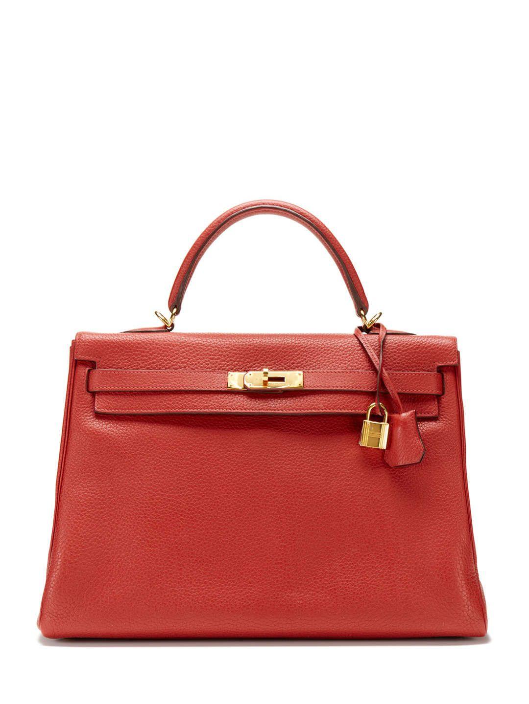 6739a6674c6d Rouge Garance Clemence Kelly 35 Hermès Handbags