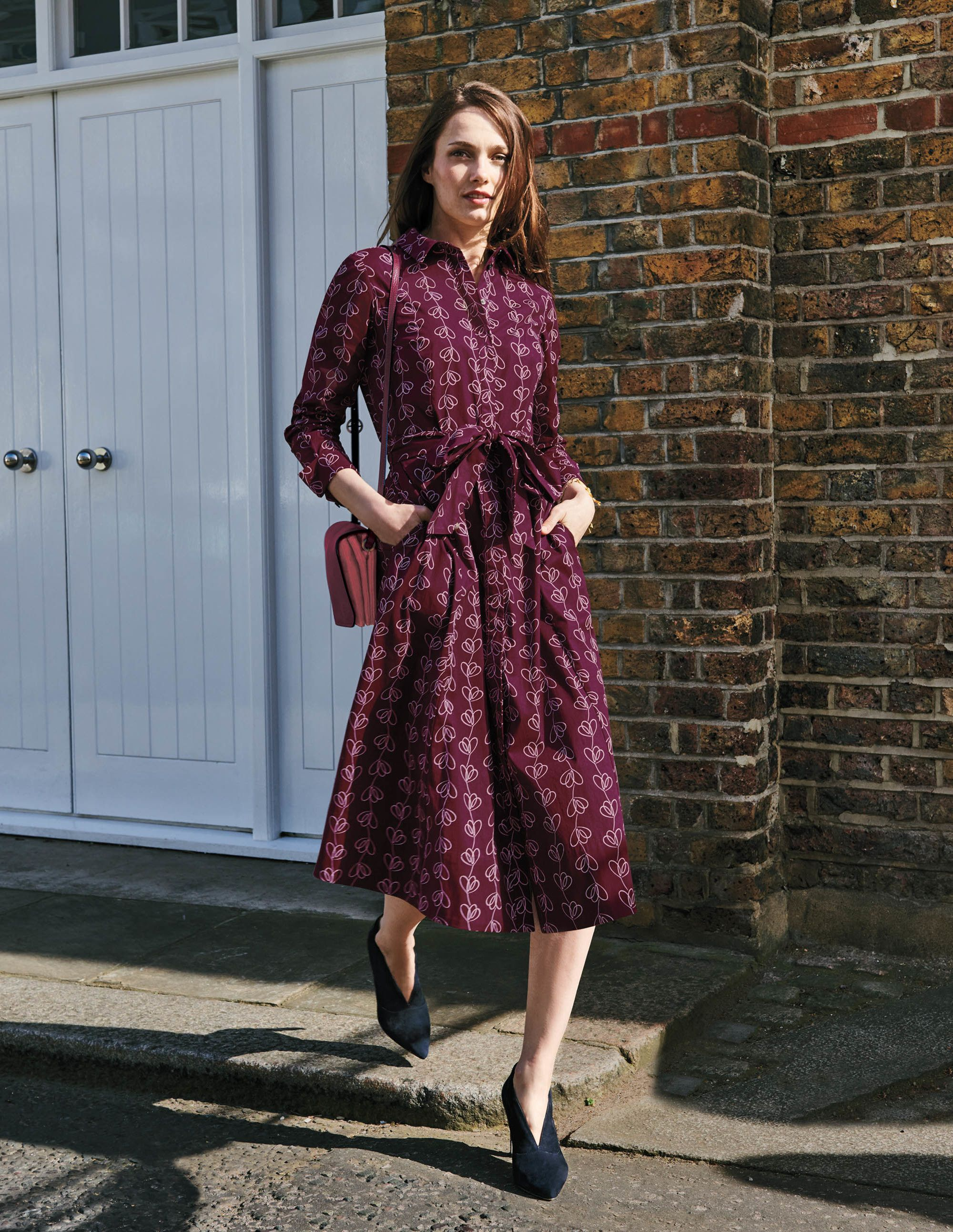 Great Take On The Traditional Shirt Dress Especially Like The