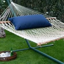 Enjoy lounging in your hammock!