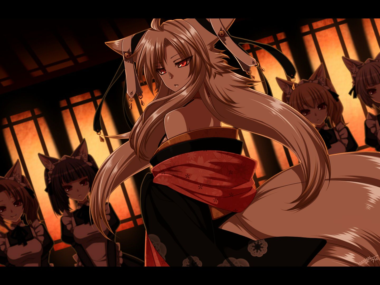 Fox girl anime and art pinterest anime and drawings