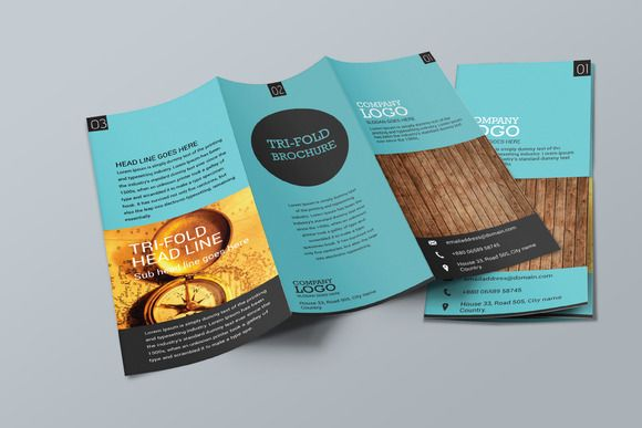 Simple Trifold Brochure Design Brochures And Brochure Template - Simple brochure template