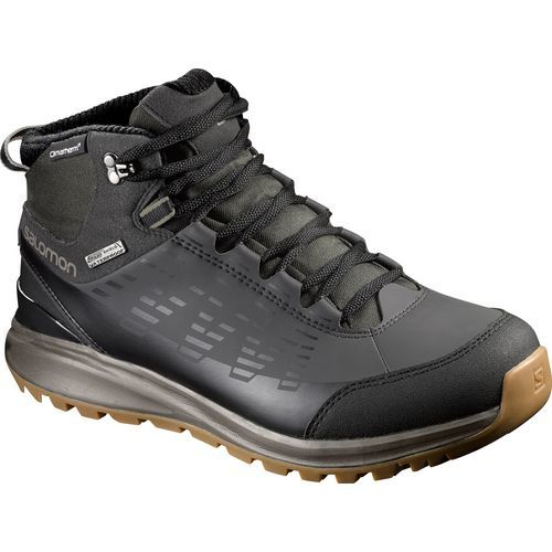 Salomon Men's Kaipo Mid CS WP 2 Winter Hiking Boots (Black, Size 11.5)