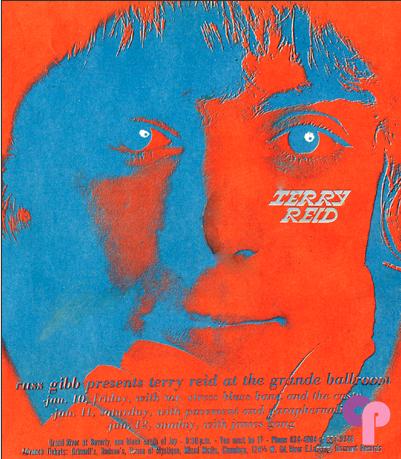 Artist Unknown, 1 9 6 7, Terry Reid, Mr. Stress Blues Band, Caste, Terry Reid,   Pavement, Paraphernalia, Terry Reid,   James Gang.
