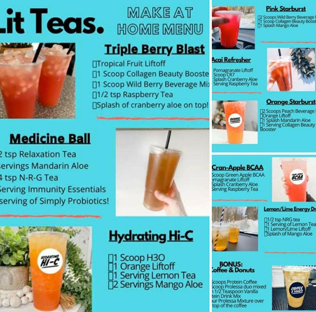 Herbalife Lit Tea In 2020 Herbal Teas Recipes Herbalife Shake Recipes Herbalife Recipes