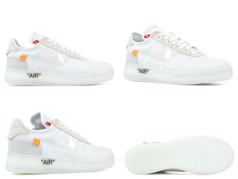 san francisco 7aa9c 4ce4e ... online shop e19a0 c3673 Size 9.5 THE 10 NIKE AIR FORCE 1 LOW OFF WHITE  ao4606 ...