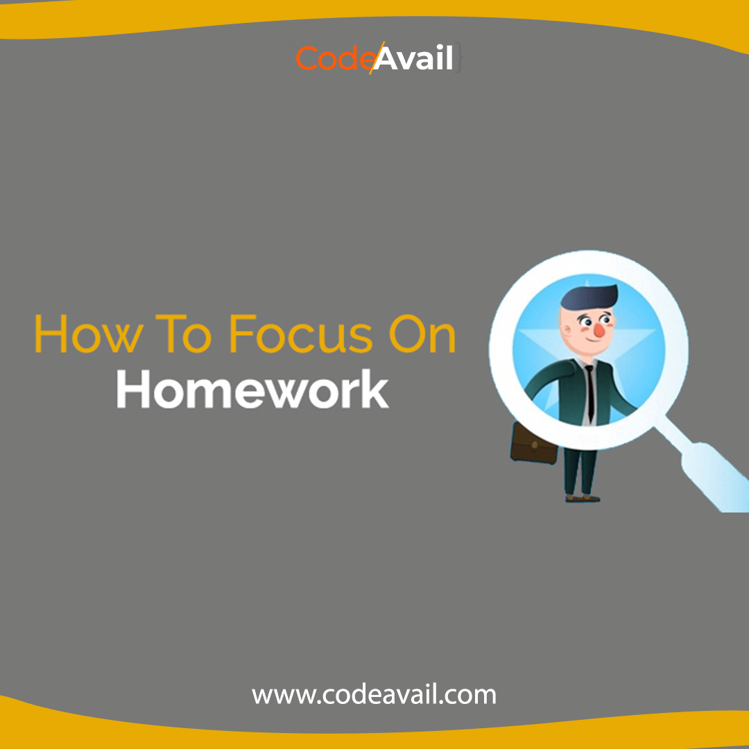 Are You Thinking About How To Focus On Homework Science Homework Academic Writing Computer Science