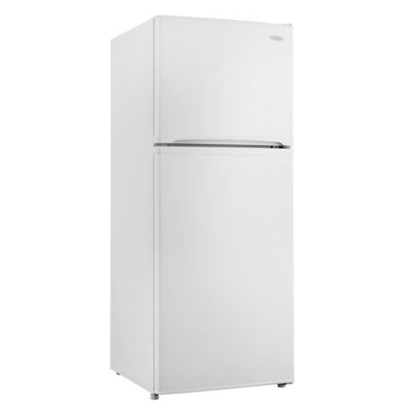 Danby 10 Cu Ft Top Freezer Refrigerator Model Dff100c1w Top Freezer Refrigerator Refrigerator Models Apartment Size Refrigerator