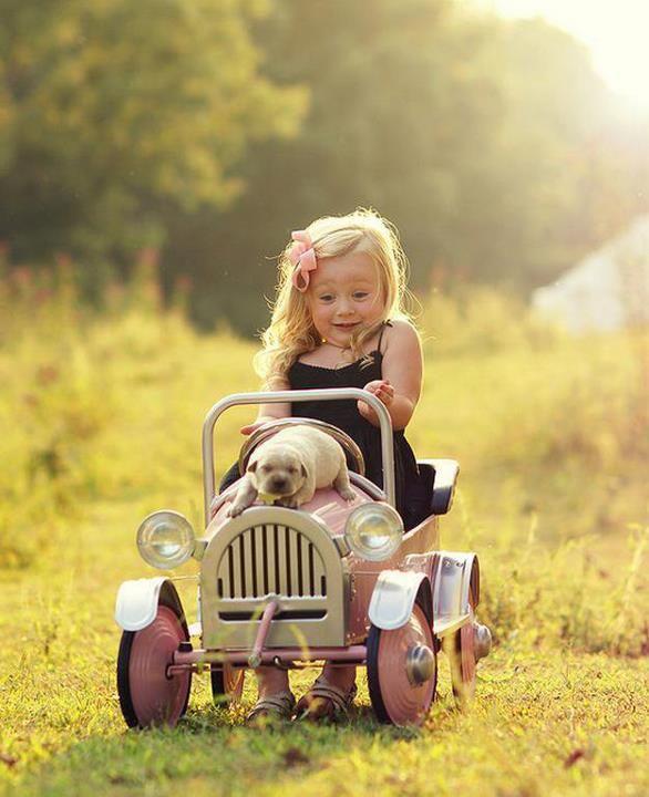 As crianças e a natureza...expressando um Criador PERFEITO!