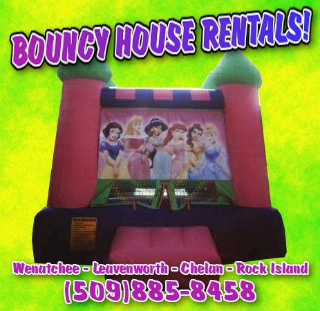 A great local source for bouncy houses, tables, and chairs... perfect for any outdoor get together.