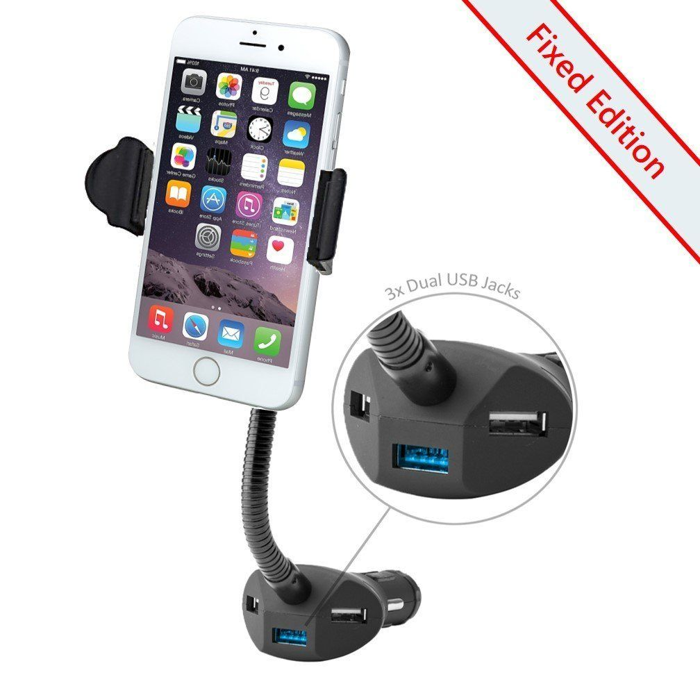 Beepels Connect All Universal 3 USB Ports Car Charger and