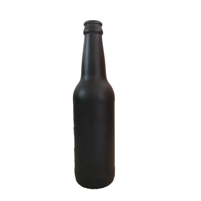 Black 330ml Glass Beer Bottle Beer Glass Glass Bottles Wholesale Bottle