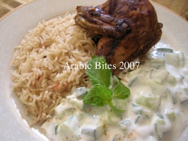 Chicken mandi best eaten with the hands and on a carpet on the arabic chicken recipes in urdu forumfinder Gallery