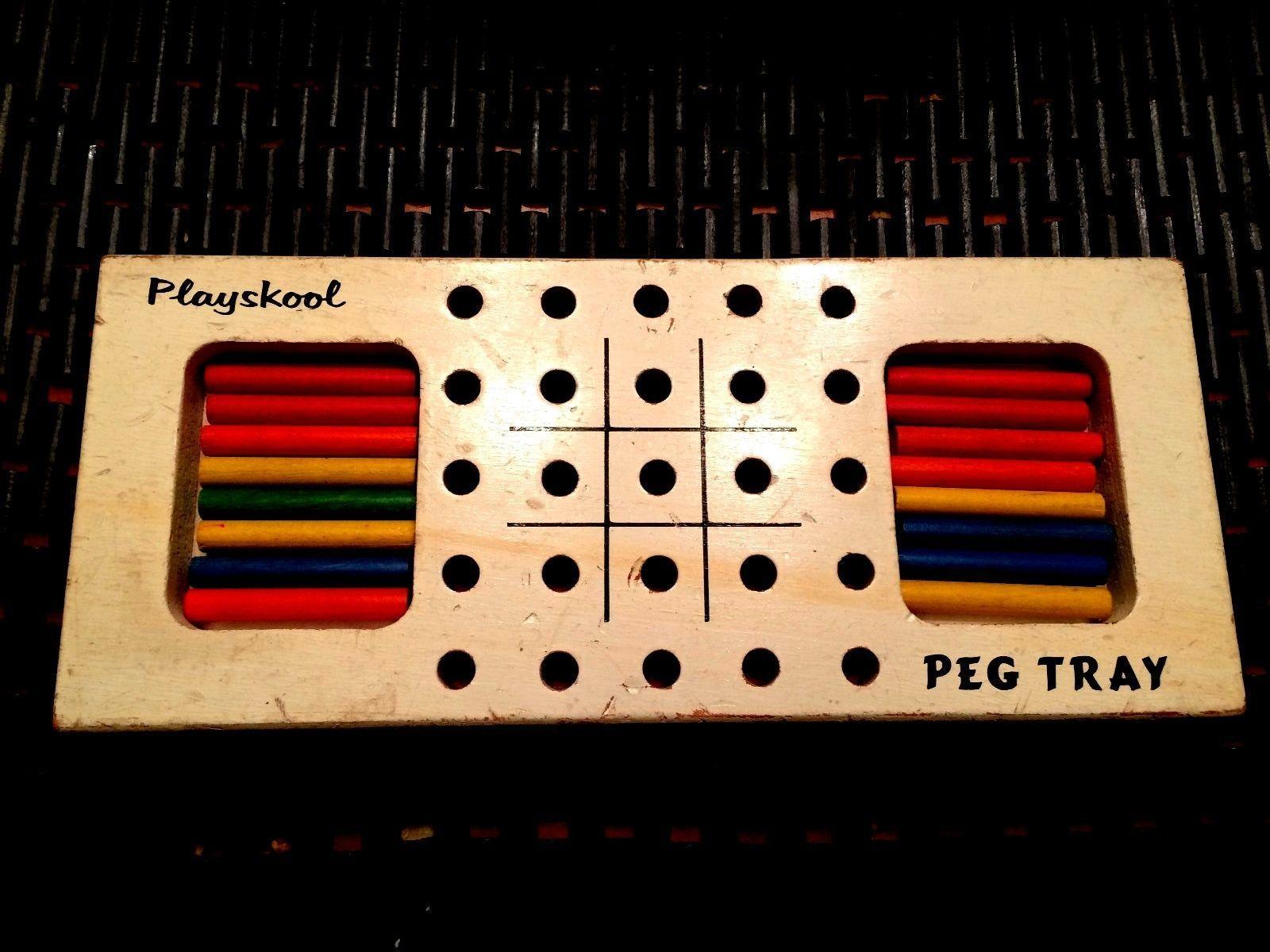 "Playskool ""Peg Tray"" game"