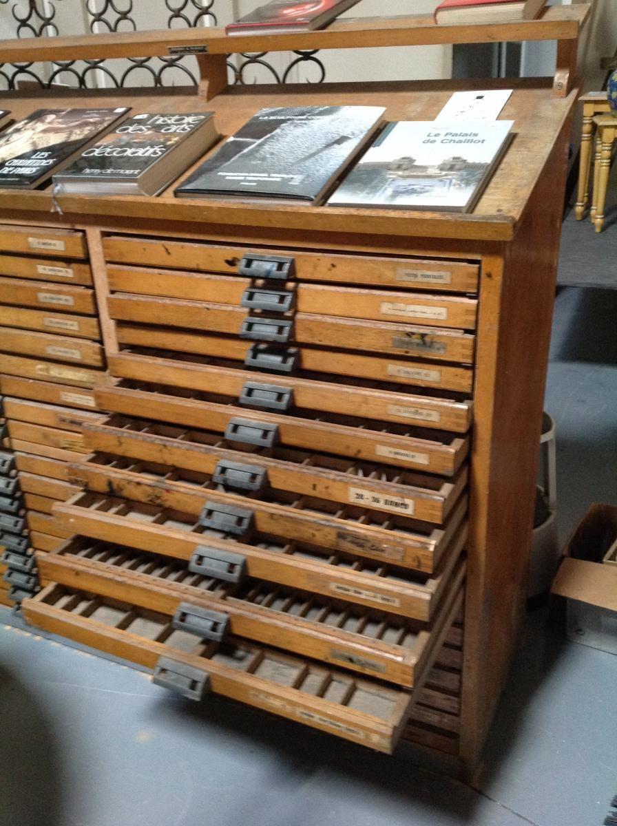 meuble d imprimerie meubles de metier