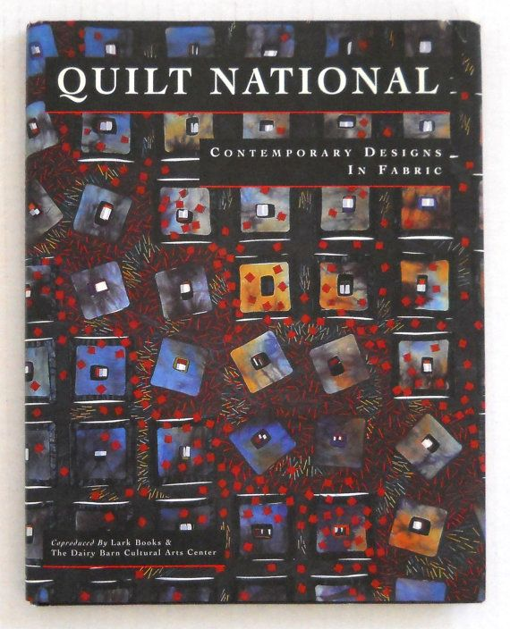 Contemporary Designs In Fabric / Quilt National '95 International Exhibition Of Art Quilts ► http://etsy.me/1SR2ga4