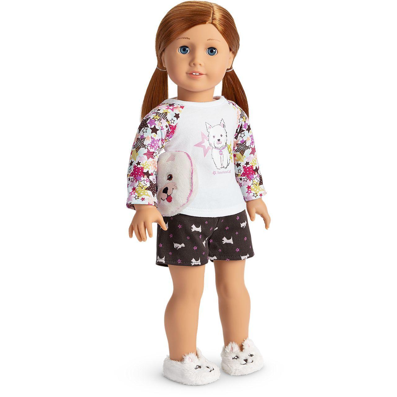 "Ballerina Cats Pajamas for 18/"" Doll Clothes American Girl"