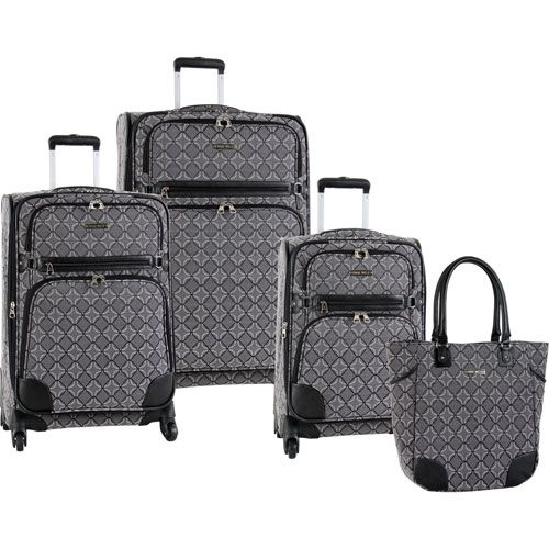 Nine West Element 9 4 Piece Spinner Luggage Set | Vacation | Pinterest