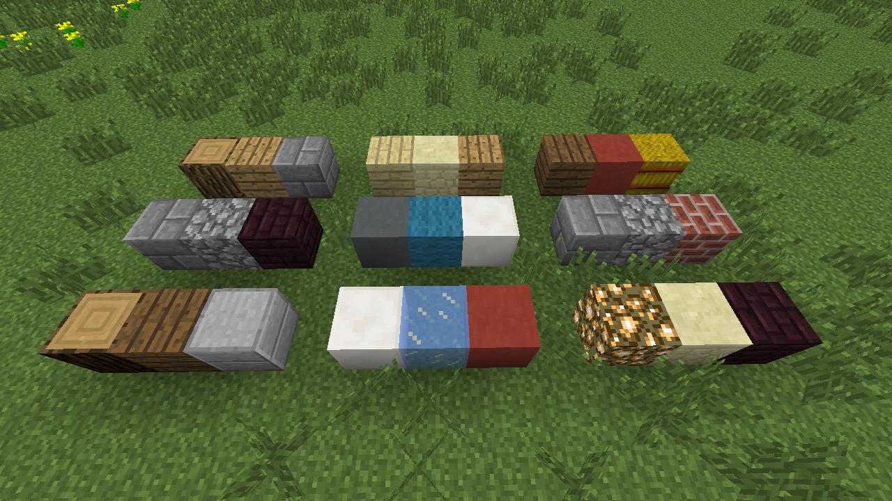 Minecraft Blocks That Go Good Together Google Search Minecraft Blocks Minecraft Minecraft Blueprints