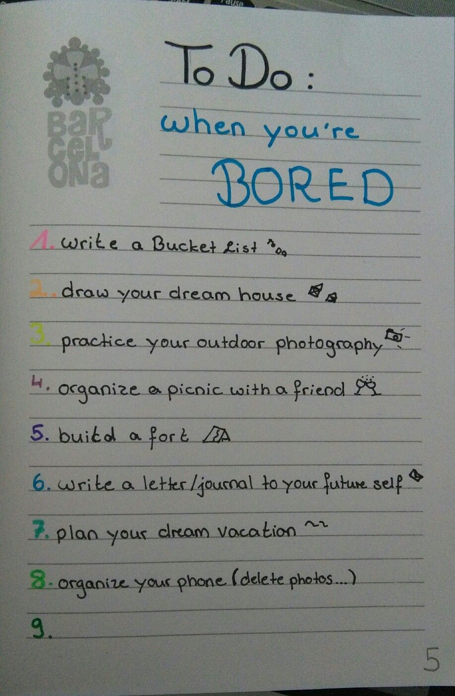 Things To Do When You're Bored..