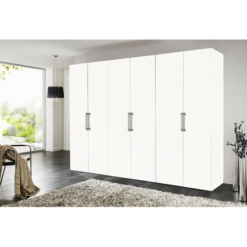 Brooklyn 6 Door Wardrobe Express Mobel Body And Front Colour