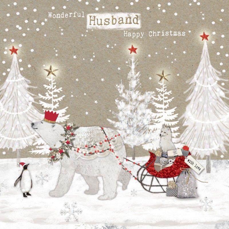 Wonderful Husband | Christmas Cards For Him | Pinterest