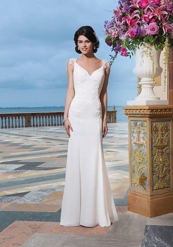 Fegen Plus die Größe vorhanden Perlenstickerei Sincerity Bridal 3842 ...
