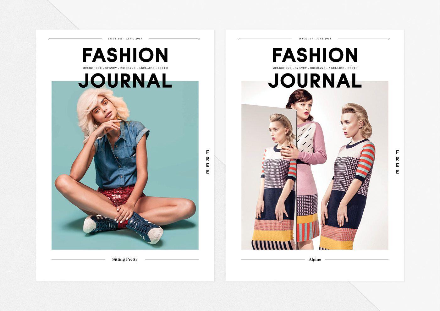 Fashion Journal Magazine On Behance Fashion Journals Fashion Magazine