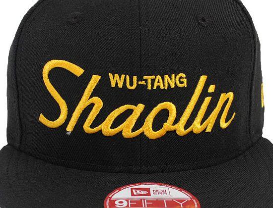 fc1a14768dc9d Shaolin Script Snapback Cap by NEW ERA x WU-TANG