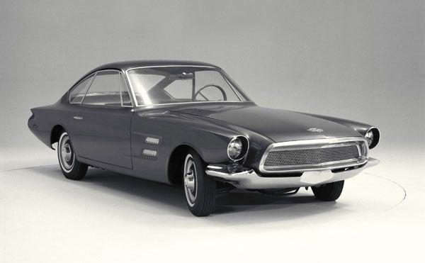 1963 Ford Allegro Fastback Coupe Concept Retro Cars Ford America Concept Cars