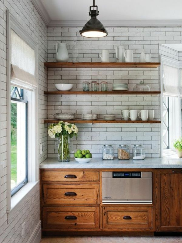 Wandverkleidung der Küche - Inspirierende elegante Ideen in 2018 ...
