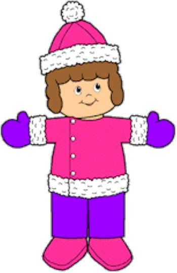 Winter Playtime Paper Dolls  Paper Dolls  Pinterest
