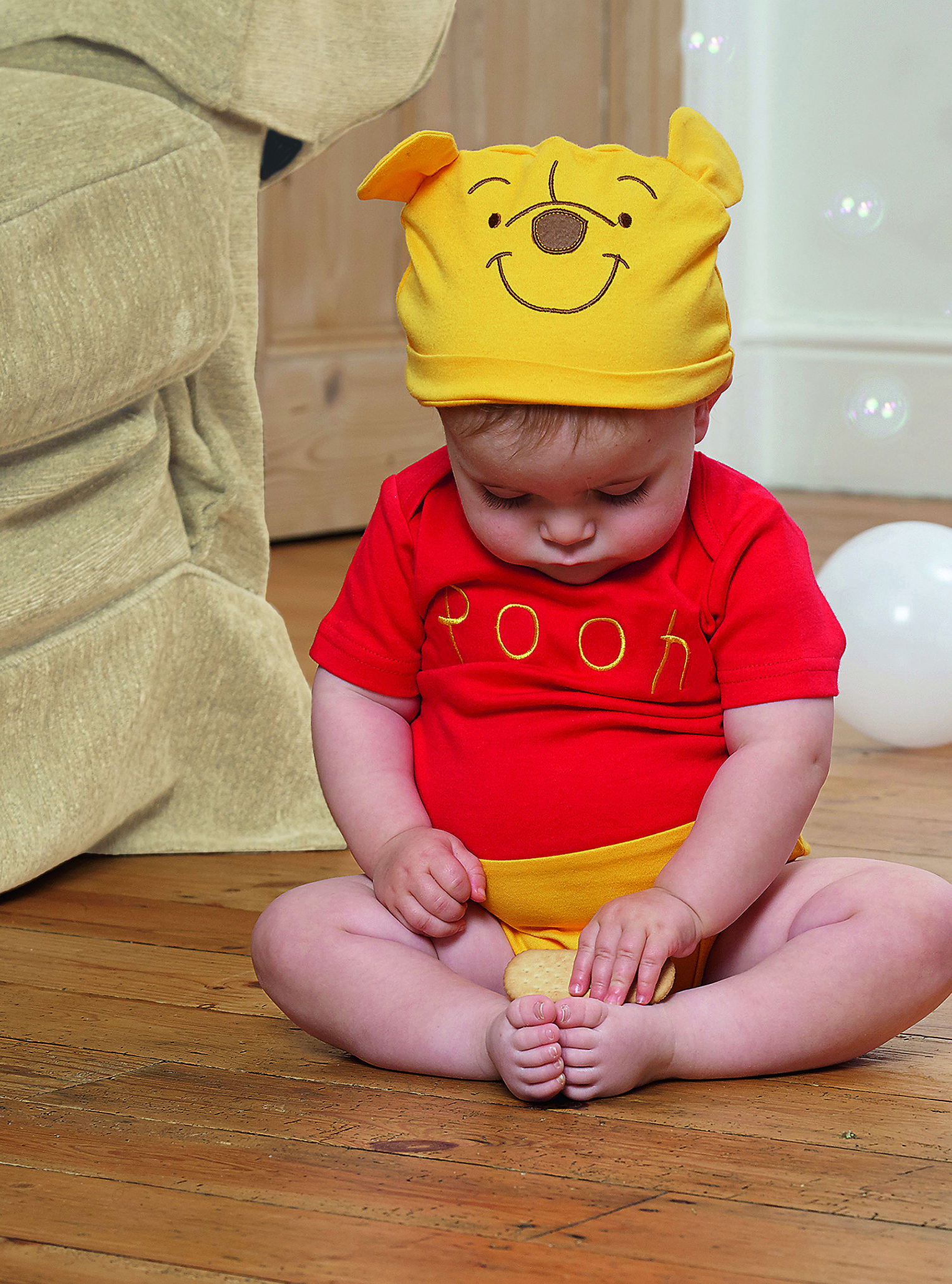 2089ac8b7 Winnie the Pooh Jersey Bodysuit and Hat ~ This adorable short sleeved soft…