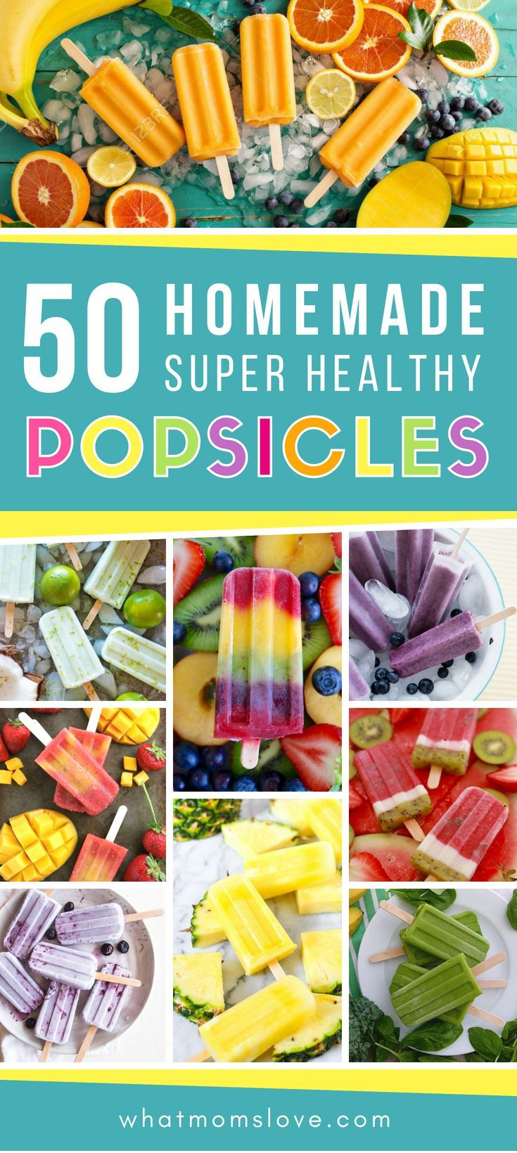 50 Best Healthy Popsicle Recipes For Kids – No Artificial Colors or Refined Sugars In Sight! images
