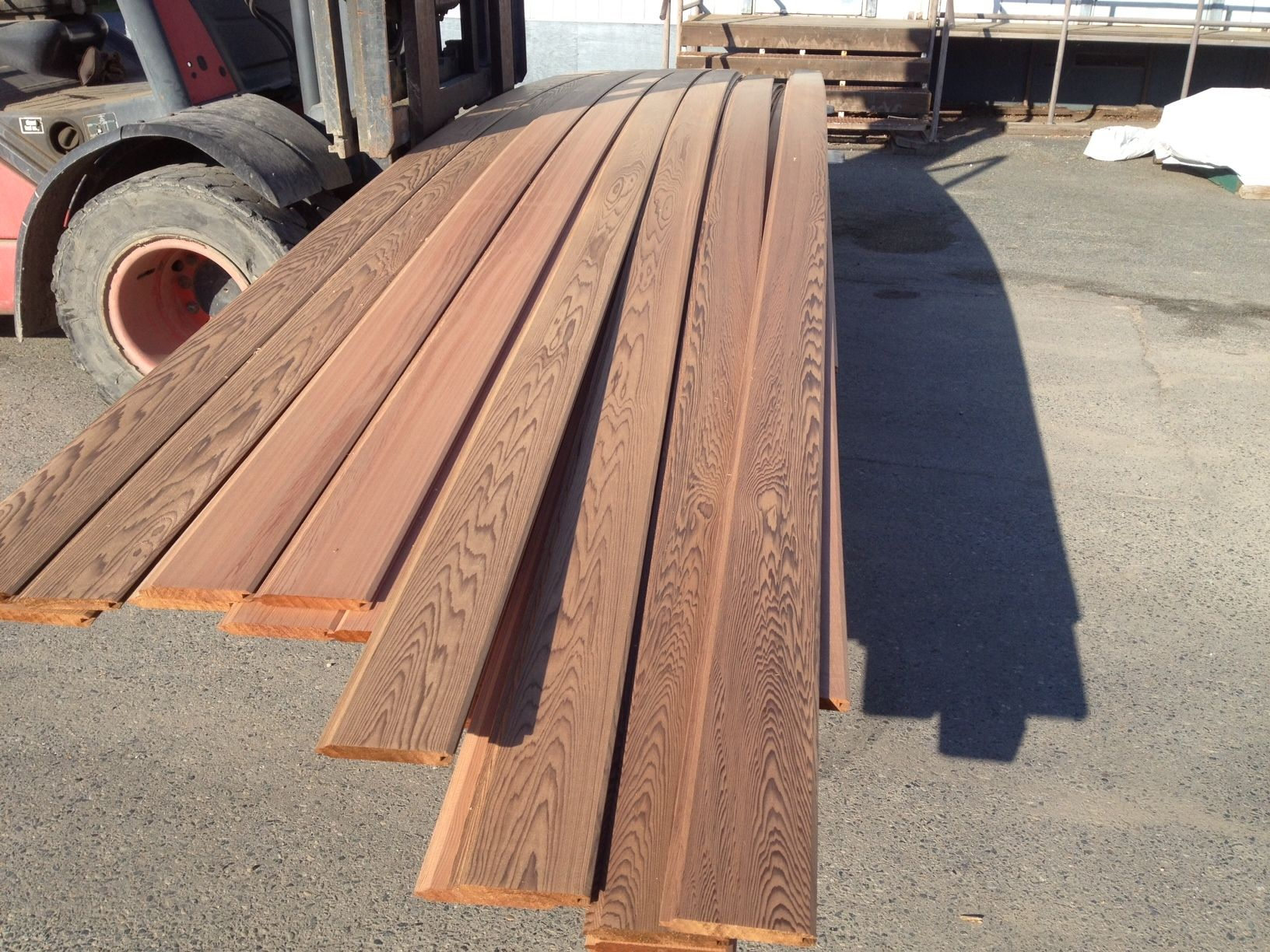 Blowout Items Cedar Siding California Cedar Siding Lumber Blowout
