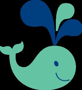 cute whale clip art vector clip art online royalty free public rh pinterest com Cute Starfish Clip Art Cute Dolphin Clip Art