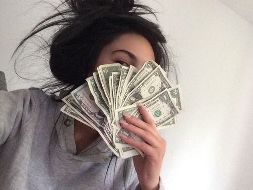 money, girl, and tumblr resmi