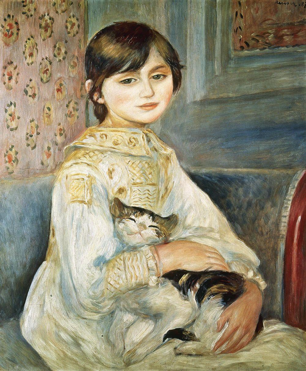 Edouard Manet   Renoir, Peintures renoir, Illustration de chat